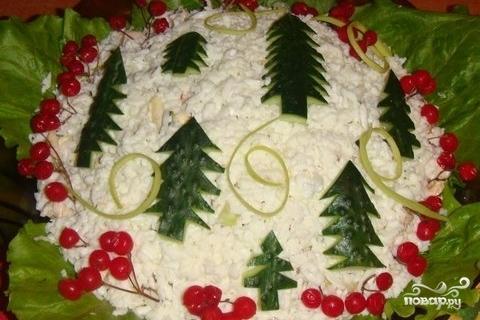 """Салат """"Новогодняя елочка"""""""