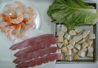 Рецепт Клубный салат с креветками