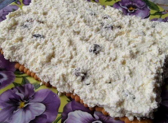 """Торт """"Минутка"""" из печенья - фото шаг 8"""