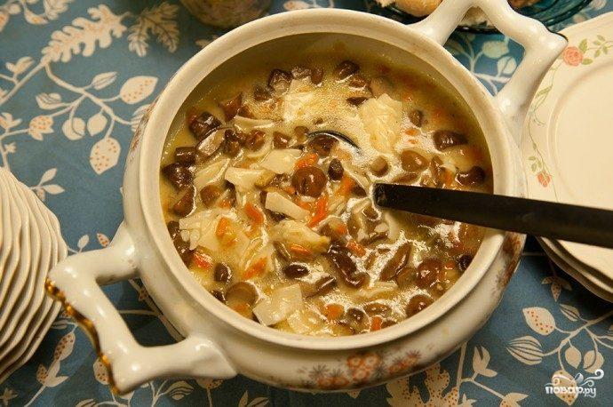 Рецепт Суп из подосиновиков