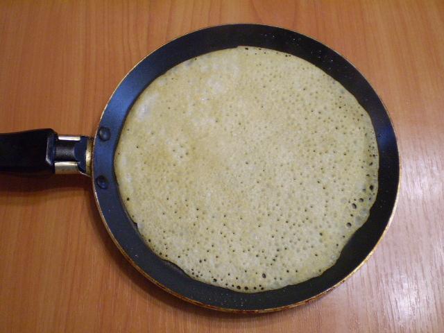 Вегетарианские блины без яиц - фото шаг 7
