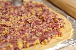 Мясной пирог с картофелем - фото шаг 9