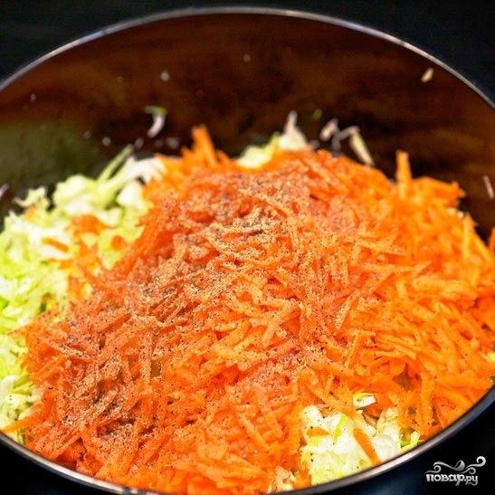 Капустный салат с морковью - фото шаг 5