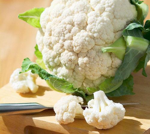 Рецепт Мясо с цветной капустой в духовке