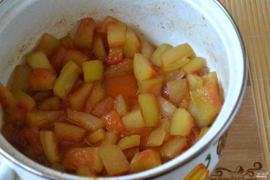 варенье из мякоти арбуза пошаговый рецепт с картинками