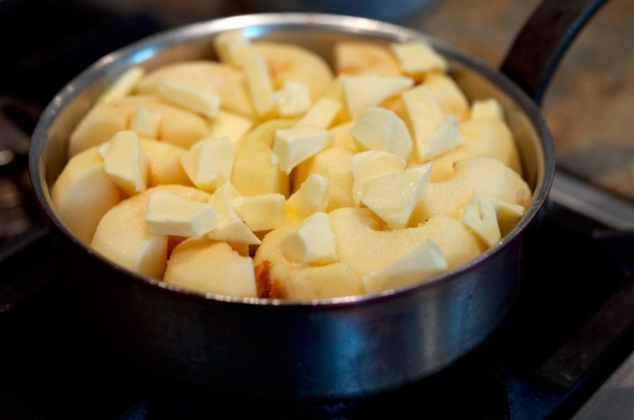 Тарт Татен с яблоками - фото шаг 3