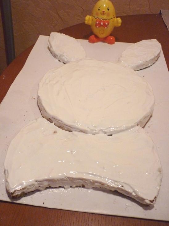 """Торт """"Пасхальный кролик"""" - фото шаг 5"""