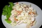 Салат с копченой курочкой Аппетит
