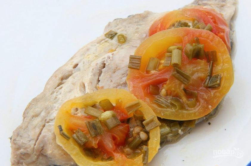 Помидоры, запеченные с сыром в духовке Рецепт с фото 94