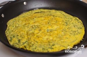 Суп с яичной лапшой - фото шаг 7