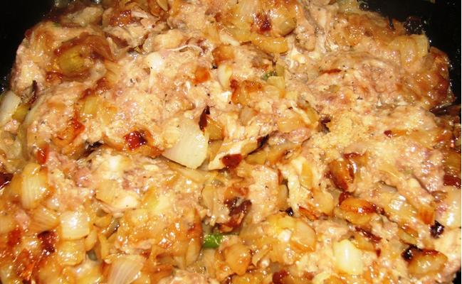 Рецепт Жареная картошка с фаршем