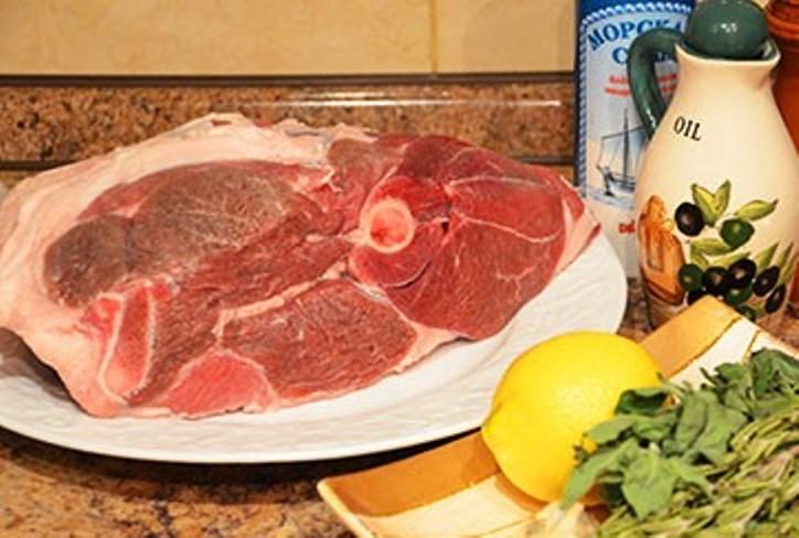 Рецепт Маринованная баранина в духовке