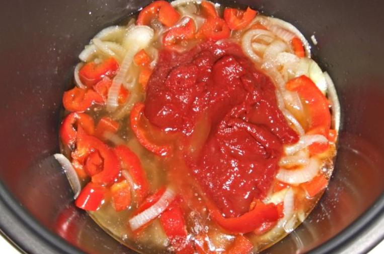 Каннеллони под томатным соусом - фото шаг 3
