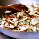 Рецепт Галет с грибами и капустой
