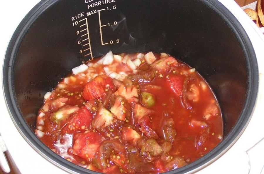 Домашний кетчуп в мультиварке - фото шаг 1