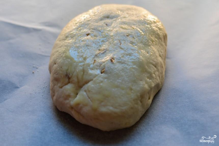 Чиабатта с орехами - фото шаг 5
