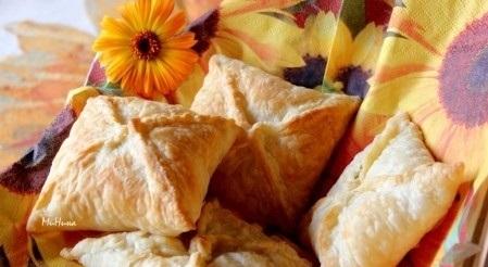 Пирожки с помидорами и базиликом - фото шаг 6