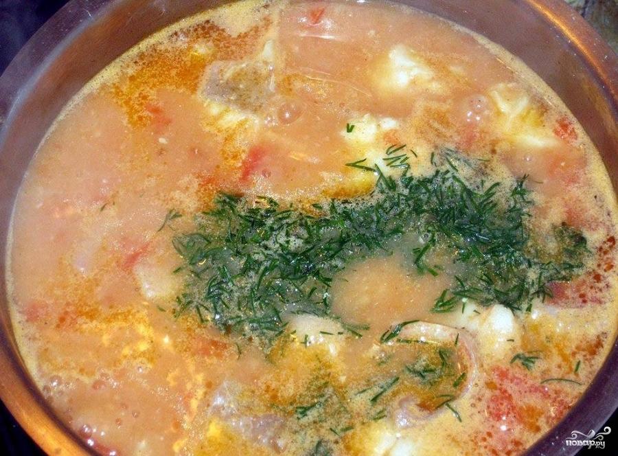 рыбный суп из окуня морского рецепты с фото