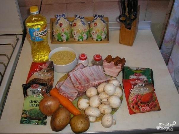 Рецепт Суп полевой