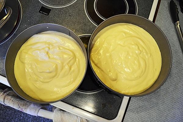Торт со сметаной и желатином пошаговый рецепт с