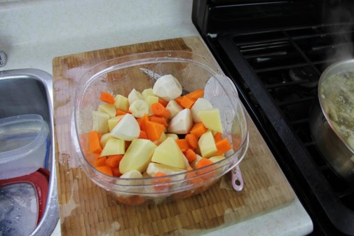 Суп из куриных лапок - фото шаг 2
