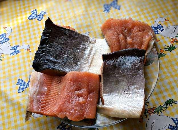 Рецепт Рыба, запеченная на углях