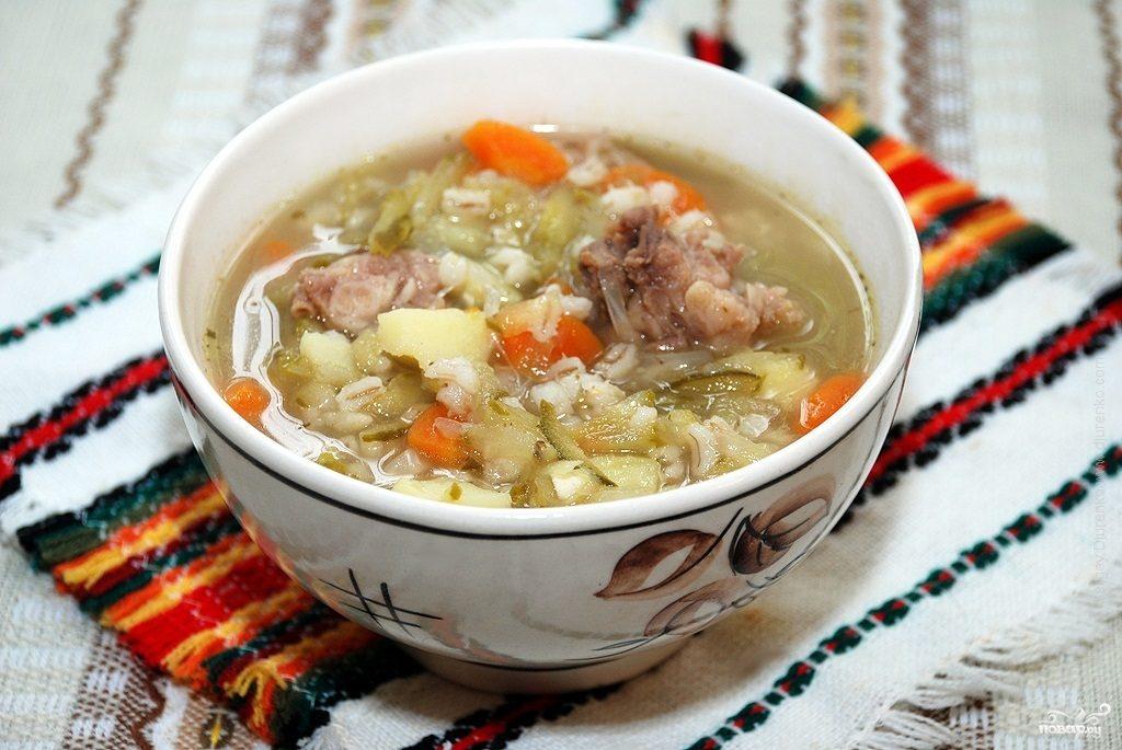 Суп перловый в мультиварке