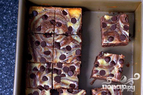 Мини-чизкейки с шоколадом - фото шаг 3