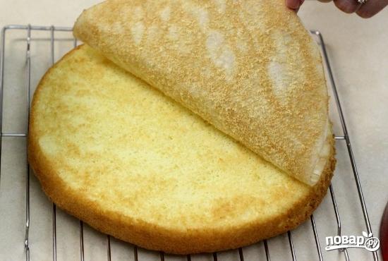 Вкусный бисквитный торт - фото шаг 7