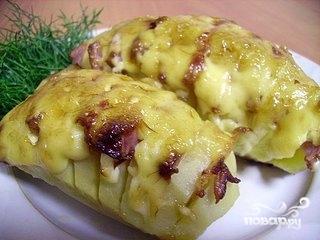 Картофель с грудинкой - фото шаг 6
