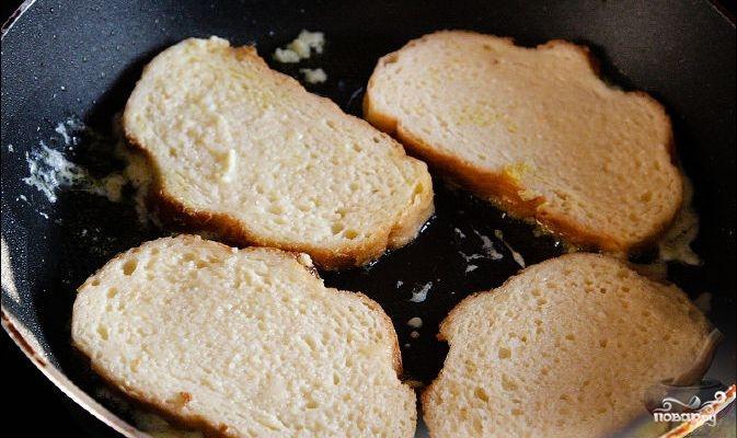 Гренки из белого хлеба - фото шаг 3