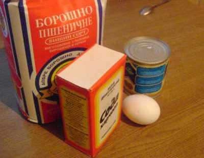 Коржи на сковороде - фото шаг 1