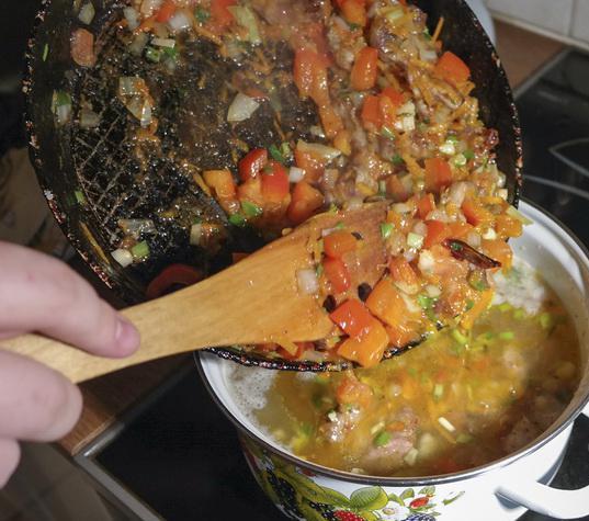 Лагман с овощами - фото шаг 4