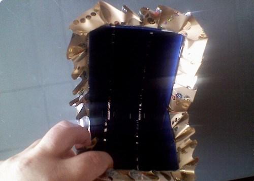 Коляска из конфет - фото шаг 3