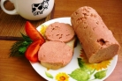 Вегетарианская колбаса из гороха