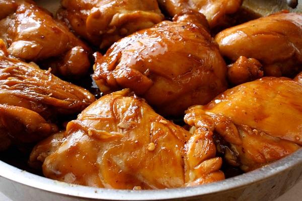 Курица в карамельном соусе - фото шаг 7