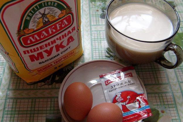 Рецепт Блины ажурные на молоке
