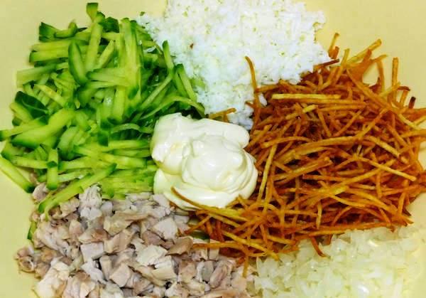 Салат яйца глухаря пошаговый рецепт 88