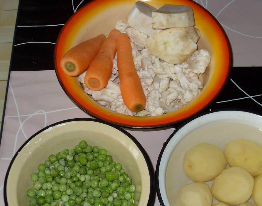 Суп с овощами и мясом - фото шаг 4