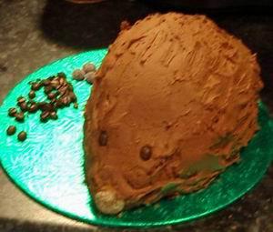 """Торт """"Ежик"""" без выпечки - фото шаг 5"""