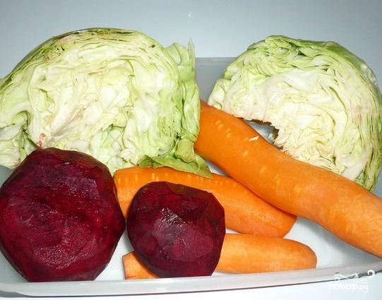 Салат очищающий для похудения - фото шаг 1