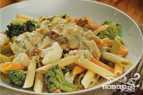 Рецепт Паста с брокколи и тунцом