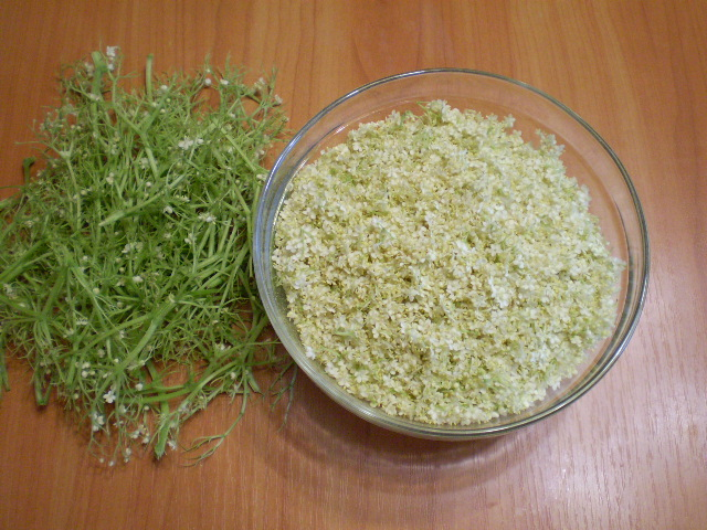 Варенье из цветков бузины - фото шаг 2