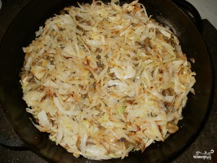 картошка с капустой в духовке пошаговый рецепт