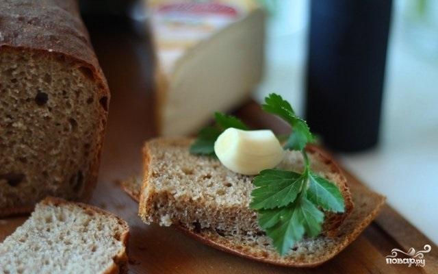 Бородинский хлеб без дрожжей