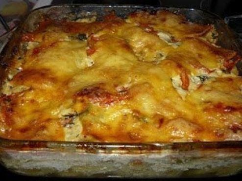 Обалденная картофельная запеканка с рыбкой - фото шаг 4