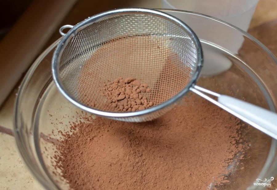 Шоколадные макаруны - фото шаг 3