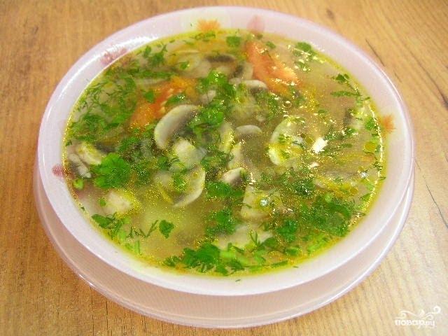 постный суп для кормящих рецепт