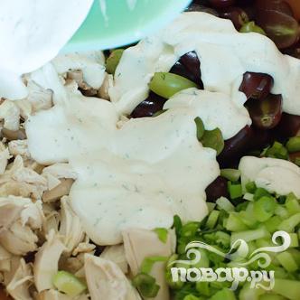 Куриный салат - фото шаг 7