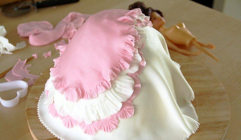 торт кукла без мастики рецепт с фото